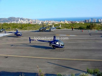 Helicopter Flights Costa Blanca